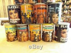 14 Vintage Playboy Playmate Penthouse Jigsaw Puzzles. 60's and 70's