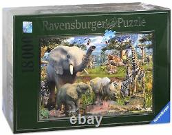 18000 Pieces Jigsaw Puzzle Ravensburger At The Waterhole (17823)