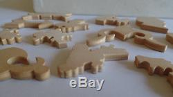 1932 Pastime Puzzle Parker Bros Wooden Jigsaw Puzzle Fishing for Bear 250 pc