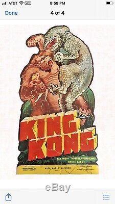 1933 King Kong Jigsaw Puzzle 135 Piece 100% Complete RKO Original with packaging