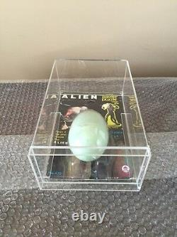 1979 Alien HG Toys Egg Puzzle With Custom Acrylic Case Rare Moc-Kenner