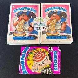 1987 Garbage Pail Kids 7th Series Complete 88 card variation set + Free Wrapper