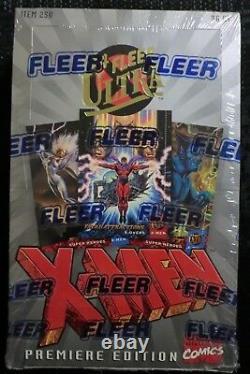 1994 Fleer Marvel Ultra X-men Trading Cards Hobby Box New Sealed