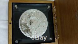 2008 australia first fleet jigsaw puzzle 5oz silver medallion coin set