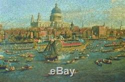 2018 LIBERTY Wooden Jigsaw PUZZLE Thames & The City 609 Pc LARGE