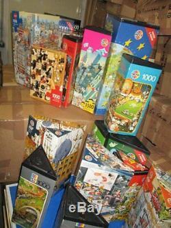 22 x HEYE Dreieck Puzzle LOUP, MORDILLO, Ryba, Marino Degano, usw