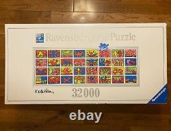 32000 Ravensburger DOUBLE RETROSPECT Jigsaw Puzzle by Keith Haring #178384