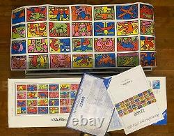 32000 Ravensburger jigsaw puzzle DOUBLE RETROSPECT Keith Haring #178384