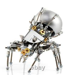 3D Puzzle with Bluetooth Speaker Mechanical Model Kits DIY Metal Spider Models