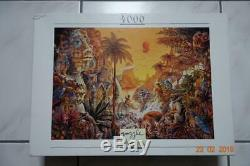 4000 piece puzzle,'Amazonia' by Gabor Szittya, 1996, Nathan Very Rare