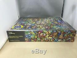 4000 pieces Jigsaw Puzzle Disney All Star Stained Glass (102 x 146 cm)