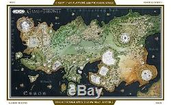 4D CITYSCAPE Game of Thrones Map of Essos 1530pcs 3D PUZZLE NEW