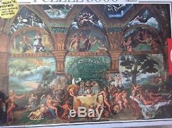 5000 Piece Puzzle Of Giulio Romano Painting Le Nozze Di Psiche e Cupido Mystical