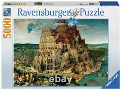 5000 Pieces Ravensburger Babel Tower Adult Stress Relief Puzzle Toys Gift New