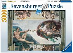 5000 Ravensburger Jigsaw Puzzle CREATION OF ADAM Perfect Birthday Gift