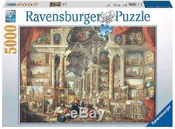 5000 Ravensburger Jigsaw Puzzle Views of Modern Rome Giovanni Paolo Panini