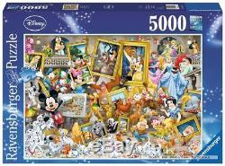 5000 pcs jigsaw puzzle Disney Artistic Mickey (Art) (Ravensburger 174324)