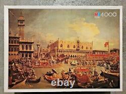 5000 piece puzzle,'Venezia' by Canaletto, 1986 Vintage Very Rare