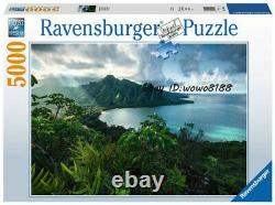 5000pcs Ravensburger Hawaii Puzzle Kid's Educational Toy Adult Stress Relief Toy