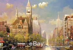 6000 pcs jigsaw puzzle New York Afternoon (Famous Places, United States)