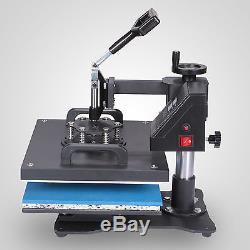 6 in 1 Combo Heat Press Transfer 1 Sublimation T-Shirt Jigsaw puzzle Plate 15X12