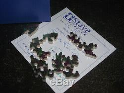 $895 Stave Wooden Jigsaw Puzzle See The Rain, Dear Level 4 Tormentor USA