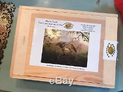 ARTIFACTS Wooden Jigsaw Puzzle 289 Pieces HUMMINGBIRDS