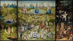 ARTIFACT PUZZLES BOSCH GARDEN OF EARTHLY DELIGHTS Wooden Jigsaw 529 Pieces