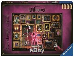 Alle 6 Puzzle Disney-bösewichte Villainous Ravensburger Von 15022 Bis 15027