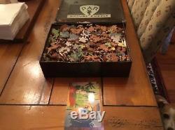Antique Wooden PAR Jigsaw Puzzle I Go My Way 600+ Pieces, 20 Figurals