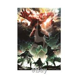 Attack on Titan Season2 Jigsaw Puzzle 1000 Piece Japan Anime with Tracking
