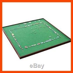 Bits & PC Square Jigsaw Puzzle Spinner Accessories Lazy Susan Table Surface Fits
