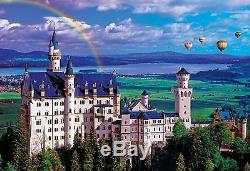 Buffalo Games 2000pc, Summer at Neuschwanstein Castle 2000pc Jigsaw Puzzle