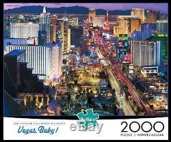 Buffalo Games Vegas Baby! Jigsaw Puzzle (2000 Piece)