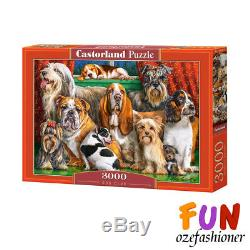 Castorland Dog Club Jigsaw 3000 pieces Puzzle