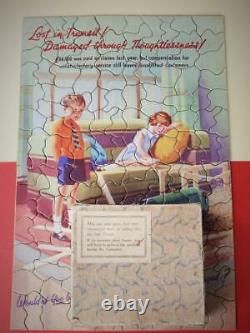 Chad Valley The Rarest Gwr Jigsaw Puzzle'lost In Transit' Boxed 1938 Pushfit