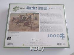 Charles Russell IN WITHOUT KNOCKING 1000 Piece PUZZLE Pomegranate Art SEALED