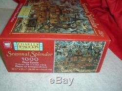 Charles Wysocki Sweetheart Hotel Halloween Puzzle 1000 Pieces New in Sealed Box