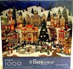 Christmas in the City 1000 Piece Holiday Jigsaw Puzzle by Springbok