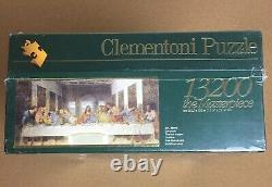 Clementoni 13200 Last Supper Leonardo da Vinci Jigsaw Puzzle rare new sealed