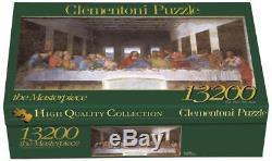 Clementoni Jigsaw Puzzle 13200 Last Supper Leonardo New Das Abendmahl Art Puzle