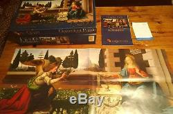 Clementoni Puzzle 13200 Puzzle The Masterpiece Leonardo Da Vinci Annunciazione