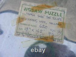 Collection Of Wooden Jigsaw Puzzles Hand Cut