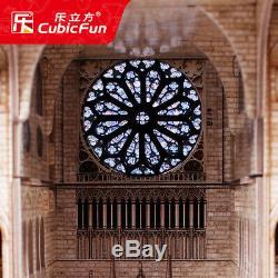 CubicFun 3D Puzzle MC260H Notre Dame De Paris, Building Jigsaws, 293 Pieces