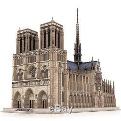 Cubicfun 3d Puzzle-notre Dame De Paris Kids Diy Architecture Toy/gift Sealed