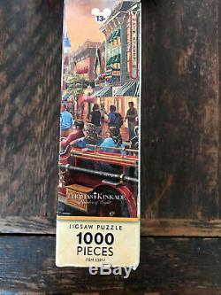 DISNEY PARKS Thomas Kinkade DISNEYLAND 60TH ANNIVERSARY 1000 Pce Puzzle Complete