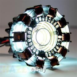DIY Master Iron Man MK1 Reactor de Arco Asamblea por ti mismo juguete regalo