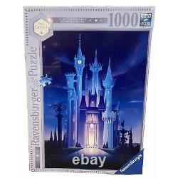 Disney Castle Collection Ravensburger Cinderella 1000 Piece Jigsaw Puzzle LR