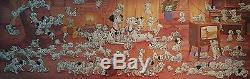Disney Jigsaw Puzzle 950 pcs 101 Dalmatians (34x102cm) Tenyo JP 2004 very rare