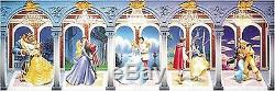 Disney Jigsaw Puzzle 950 pcs Five Love Stories (34x102cm) Tenyo JP 2004 rare